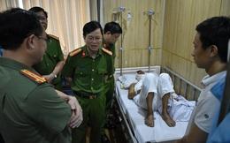 Ninh Bình: Cán bộ CSGT đường thủy bị cát tặc chém nhập viện