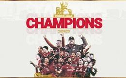 Liverpool chính thức giành chức vô địch Premier League sau 30 năm chờ đợi