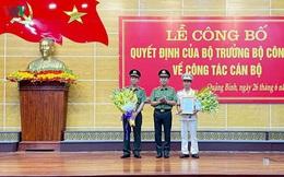 Đại tá Nguyễn Tiến Nam giữ chức Giám đốc Công an tỉnh Quảng Bình