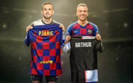 Barcelona đổi Arthur lấy Pjanic của Juventus, bỏ túi thêm 10 triệu euro