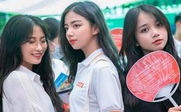 Bức ảnh bộ 3 nữ sinh THPT gây bão MXH vì ai cũng xinh xuất sắc, thần thái đỉnh cao không thể rời mắt