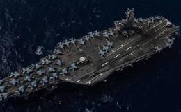 Mỹ tập trận tàu sân bay kép ở biển Đông