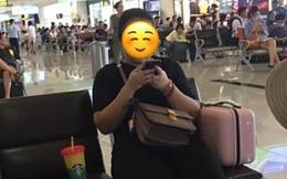 Xin ngồi kế bên trong phòng chờ sân bay, cô gái khước từ chỉ vì chỗ bên cạnh còn để cốc nước, nhưng câu nói thiếu văn hóa sau đó mới là điều khiến nhiều người bức xúc