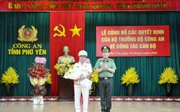 Trao quyết định bổ nhiệm Giám đốc Công an tỉnh Phú Yên