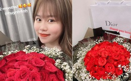 """Sau 2 tuần vướng lùm xùm bị hack Facebook, bức ảnh """"tái xuất"""" MXH đầu tiên của Quang Hải là kỉ niệm 2 tháng yêu Huỳnh Anh"""