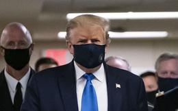 Hình ảnh Tổng thống Trump đeo khẩu trang thăm thương binh Mỹ