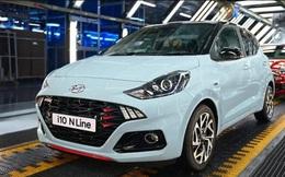 Hyundai i10 N Line mới giá từ 470 triệu đồng