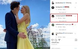 """David Beckham cuối cùng cũng chịu lên tiếng về đám cưới sắp tới của cậu quý tử Brooklyn, nhận ngay """"4 trái tim"""" tới từ con dâu tương lai"""