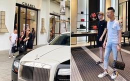 Đại gia Minh Nhựa cùng con gái lái 2 chiếc siêu xe trị giá hàng chục tỷ đồng, chạy thẳng tới cửa hàng Chanel quận 1 mua quà tặng cho con gái của vợ cả