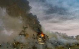 NÓNG: Chuẩn đô đốc thừa nhận điều không ai muốn về vụ cháy tàu đổ bộ tấn công USS Bonhomme Richard Mỹ