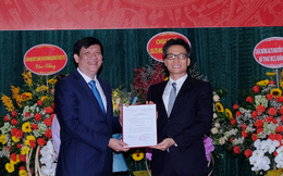 Công bố quyết định giao quyền Bộ trưởng Bộ Y tế