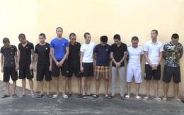 Thanh Hóa: Dàn trận để đánh nhau, 11 đối tượng bị bắt