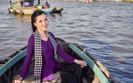 Hoa khôi Huỳnh Thuý Vi xinh đẹp trong bộ ảnh quảng bá du lịch