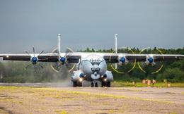 Cận cảnh chuyến bay của máy bay vận tải cánh quạt lớn nhất thế giới