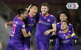 """CLB Sài Gòn giành """"cú ăn 3"""" giải thưởng V.League tháng 3 và tháng 6"""