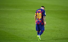 Không gánh nổi Barcelona rệu rã, Messi bất lực nhìn Real Madrid lên ngôi vương
