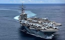 Tàu sân bay Mỹ diễn tập đỉnh cao ở Biển Đông