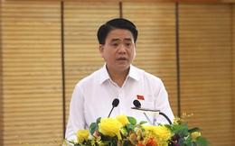 Chủ tịch Nguyễn Đức Chung nói về quy hoạch 2 bên sông Hồng