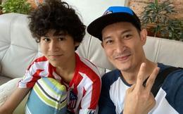 Mới 15 tuổi, con trai của Huy Khánh đã ra dáng hot boy với chiều cao 1m80 cùng khuôn mặt điển trai
