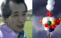 """""""Chú bóng bay"""": Người đàn ông nổi tiếng khắp nước Nhật khi bay bằng khinh khí cầu tự chế và chuyến đi xuyên Thái Bình Dương định mệnh"""