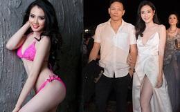 Cận cảnh nhan sắc vợ hai kém 25 tuổi, từng thi Hoa hậu của đạo diễn Ngô Quang Hải