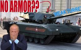 """Chuyên gia Mỹ: Biệt tài cường điệu của Nga có biến xe tăng Armata thành """"hữu danh vô thực""""?"""