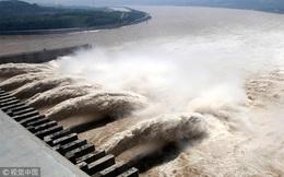 Trận lũ lớn nhất năm đổ vào đập Tam Hiệp, lưu lượng dòng chảy vào hồ chứa vượt quá dự kiến