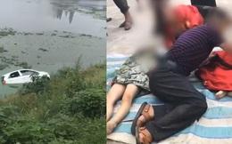Ông nội bị mất lái chở 2 cháu lao thẳng xuống sông, cảnh tượng người nhà đến hiện trường gào khóc bên 2 thi thể gây đau lòng