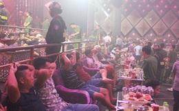 Gần 100 thanh niên chơi ma túy trong quán Bar Romance