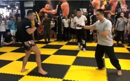 Thực hư tin đồn võ sư Nam Anh Kiệt bị gãy tay sau khi dính đòn phang trụ của Lưu Cường