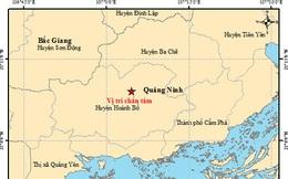 Xảy ra động đất 2,6 độ richter ở Quảng Ninh