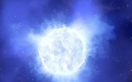 Cảnh tượng trước khi ngôi sao sáng gấp 2,5 triệu lần Mặt trời biến mất