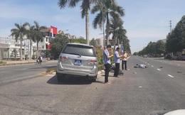 Xe của Ủy Ban kiểm tra Tỉnh ủy Nghệ An đâm văng cô gái đi xe máy điện trên đại lộ Lê Nin