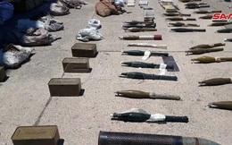 Cận cảnh lượng vũ khí lớn về tay quân đội Syria