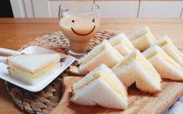 Muốn có bữa sáng nhanh thần tốc lại ngon lành thì món bánh mì kẹp này là lựa chọn số 1