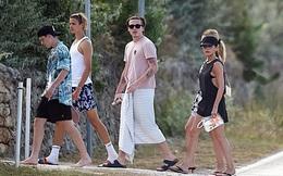 """Con dâu tương lai vi vu sang Italy du lịch cùng gia đình Beckham, gây chú ý trong lần đầu """"lộ diện"""" cạnh Brooklyn kể từ sau tuyên bố đính hôn"""