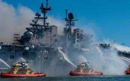 Vén màn thiệt hại 'dài hơi' cho hải quân Mỹ từ hỏa hoạn tàu chiến mới được dập tắt