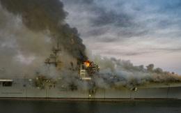 Thêm một siêu tàu đổ bộ tấn công Mỹ cùng loại với USS Bonhomme Richard bùng cháy - IRIB: Kẻ giúp Mỹ hạ sát tướng Soleimani đã phải trả giá