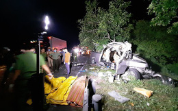 Thông tin bất ngờ về tài xế xe khách 'đấu đấu' xe tải khiến 8 người chết