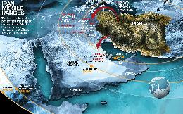 """Kho tên lửa đạn đạo """"bóp nghẹt"""" Trung Đông của Iran"""