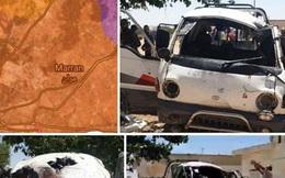 """Lộ hình ảnh """"bom ninja"""" do Mỹ sản xuất xé nát mục tiêu tại Syria"""