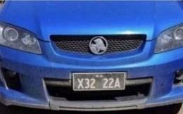 """Chiếc xe bỗng dưng nổi tiếng vì có biển số """"lạ"""", nhìn qua gương ai cũng phải đỏ mặt"""