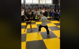 Sư đệ Flores gây tranh cãi khi công kích Lưu Cường sau màn thách đấu cựu vô địch tán thủ