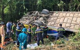 Khởi tố tài xế lái xe khách lao xuống vực làm 6 người tử vong