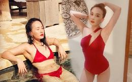 Bảo Thanh gây 'bão' mạng bằng ảnh áo tắm xẻ sâu nóng bỏng, nhận like 'khủng'