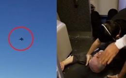 Chiến đấu cơ Mỹ bay áp sát máy bay chở khách Iran: Hành khách hoảng loạn và bị thương