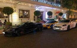 Ba siêu xe độc nhất Việt Nam hội ngộ lúc nửa đêm tại Sài Gòn, trong đó hai chiếc có lai lịch thú vị
