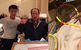 """""""Thiếu gia EQ thấp nhất"""" gia tộc Vua sòng bài Macau gây hoang mang khi thực hiện di nguyện của bố bằng cách dạy con trai 9 tháng tuổi chơi tennis"""