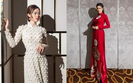 Ảnh hậu trường show Dạm ngõ đẹp như chụp lookbook của Trương Quỳnh Anh, Diệp Bảo Ngọc