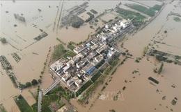 Trung Quốc gia hạn cảnh báo xanh về tình hình mưa lũ